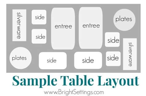 table layout guidelines try these easy tips and tricks for setting up a buffet