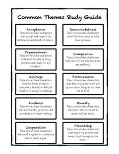 literary themes list pdf 1000 images about rl 9 theme common core on pinterest