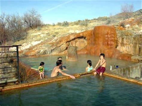 Round Bathtub Mystic Springs Monroe Utah Local Travel Tip