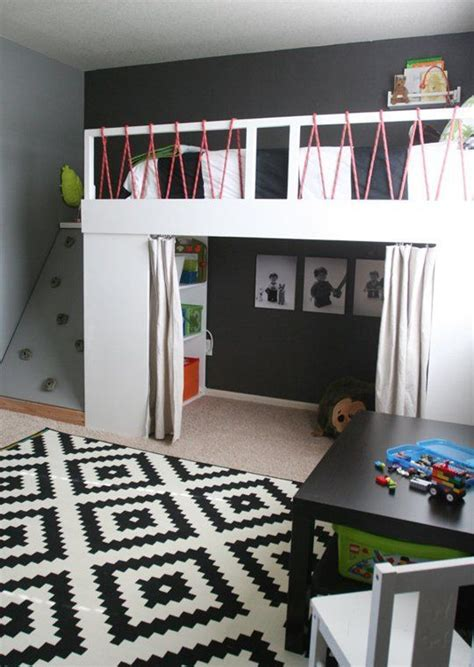 room loft bed 25 cool and loft beds for