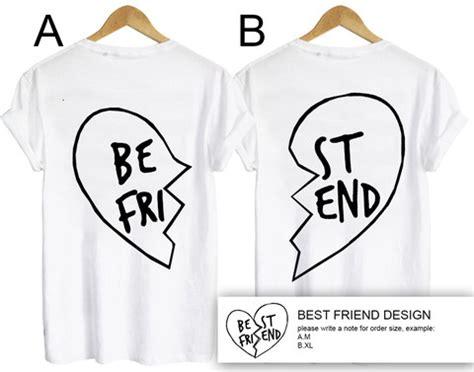 t shirt layout for best friends best friend t shirt