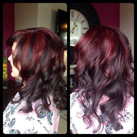 chocolate cherry brown hair photos chocolate cherry hair color visit pinsta me hair to