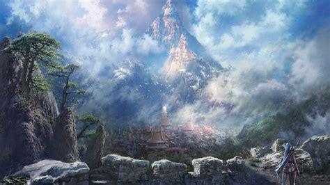 wallpaper 4k fantasy 3840x2160 fantasy amazing city in forest 4k ultra hd