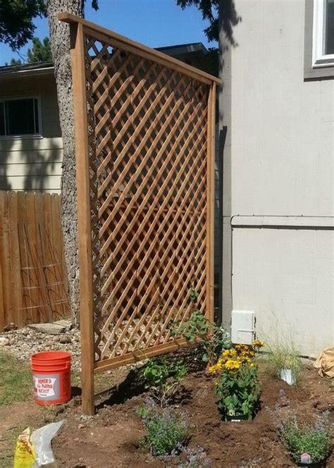 diy arbor trellis 50 garden trellis backyard privacy shield diy for the