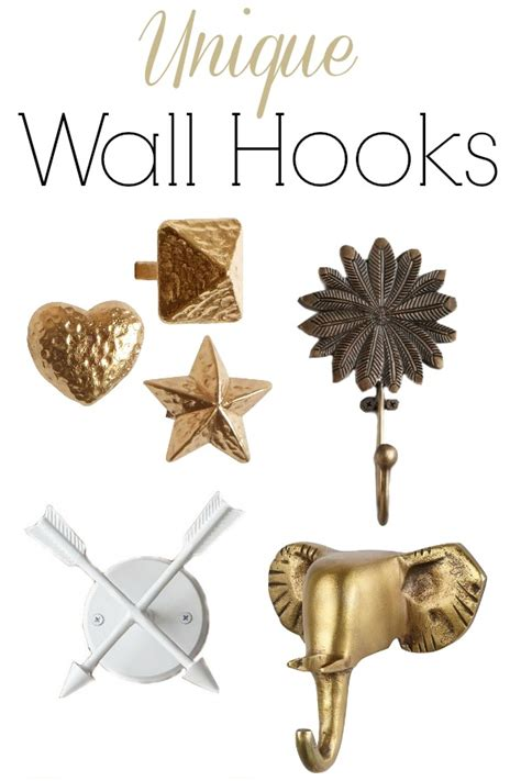 unique wall hooks unique decorative wall hooks driven by decor