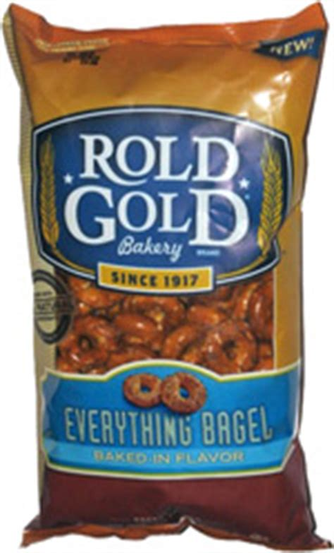 rold gold everything bagel pretzel rings