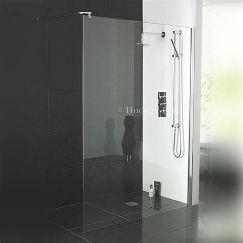 Shower Room Door Hudson Reed Room Screen Including Wall Brackets