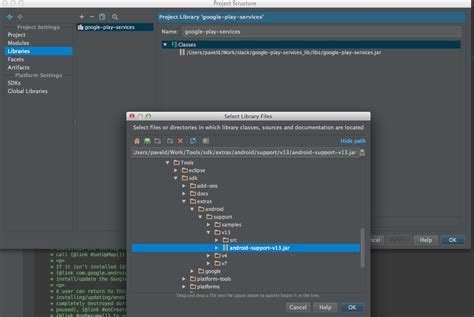 android studio add jar how can i create an android application in android studio that uses the maps api v2