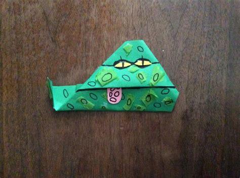 Jabba Origami - jabba origami puppet origami yoda
