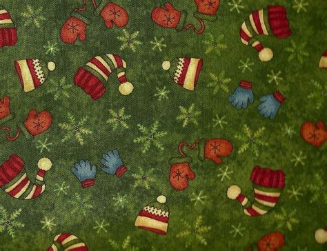 Henry Quilt Fabric by Henry Glass Buggy Barn Snowbound Hats 100