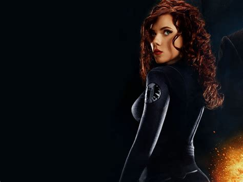 wallpaper black widow scarlett johansson as black widow in iron man wallpaper