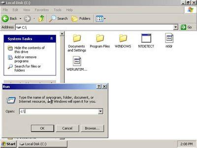 configure xp root directory start coding getting started with installation of windows