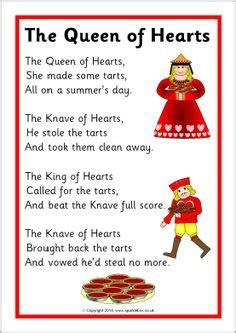 queen of hearts nursery rhyme coloring page halloween rhymes uk