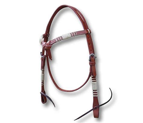 testiere western testiera western cuoio doppio nodo e rawhide made in usa
