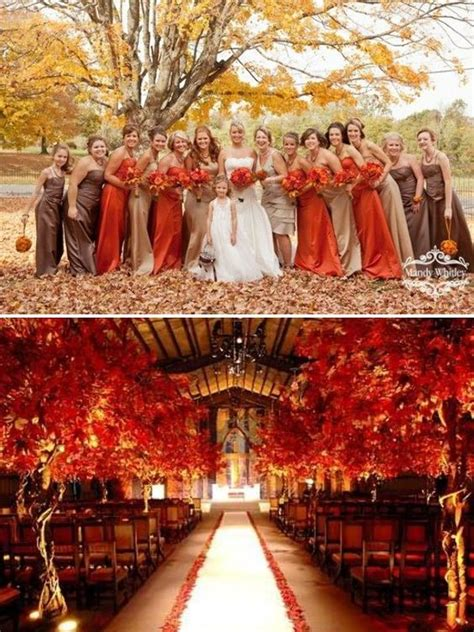 Wedding Colour Themes Autumn | fall wedding colors wedding wedding ideas and inspiration