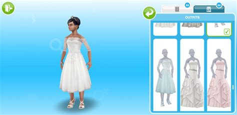 Wedding Belles Live Event In Sims Freeplay by The Sims Freeplay Wedding Belles Cas Build Mode