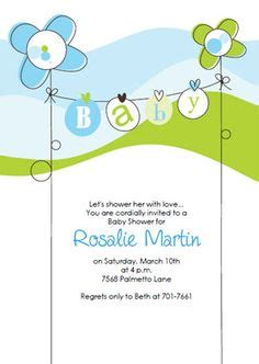 baby shower card template microsoft word 1000 images about free baby shower invitations templates