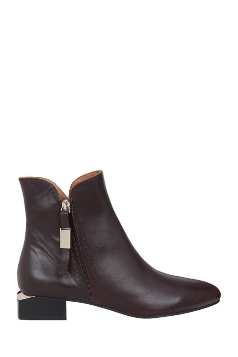 see by boots see by chlo 233 boots in purple lyst