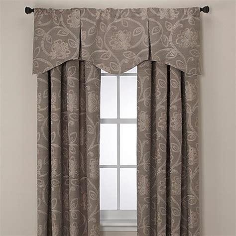 jacobean curtains buy jacobean rod pocket back tab 108 inch window curtain