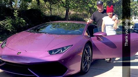 purple lamborghini video boat rob kardashian buys blac chyna a 200 000 purple