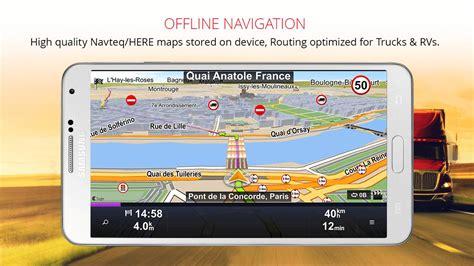 best navigation apk sygic truck gps navigation apk free travel