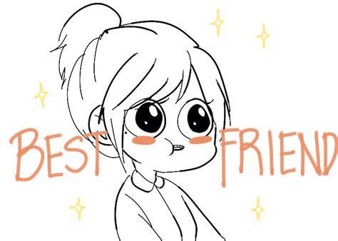 doodle free with friends haha comic best friend doodle best friends laurenarts