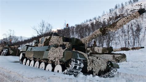 wallpaper leopard    mbt tank norway forest camo winter military
