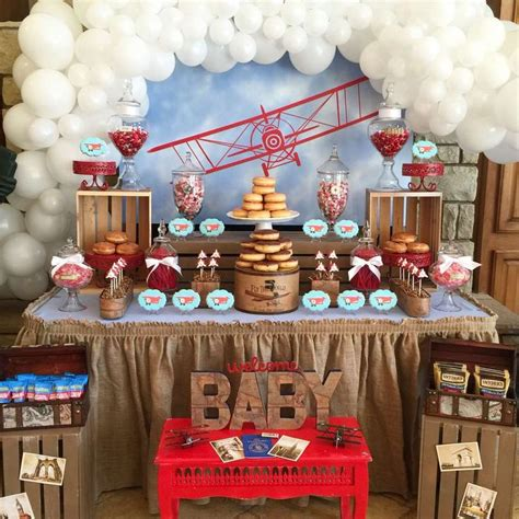 travel themed table decorations diy diy pinterest best 25 vintage airplane party ideas on pinterest