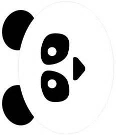 panda print outs tissue paper panda