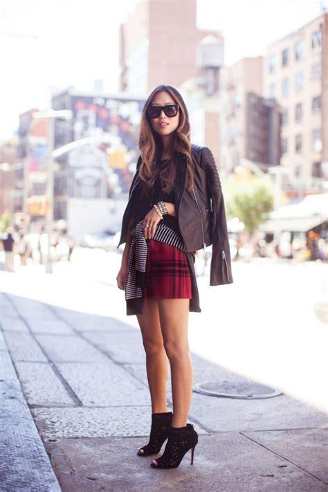 T2b Spotting Kilt Inspired Skirt by Trend Spotting Colored Tartan Gingham And Plaid