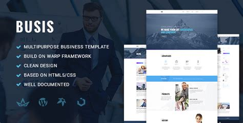 Busis Clean Multipurpose Business Corporate busis clean multipurpose business corporate responsive theme by torbara