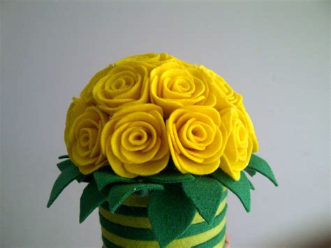 tutorial bunga pot flanel jual pot bunga hias bunga mawar flannel handmade