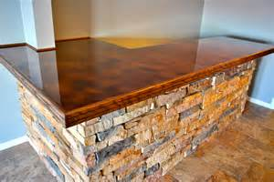 Bar Top Antique Copper Bar Top