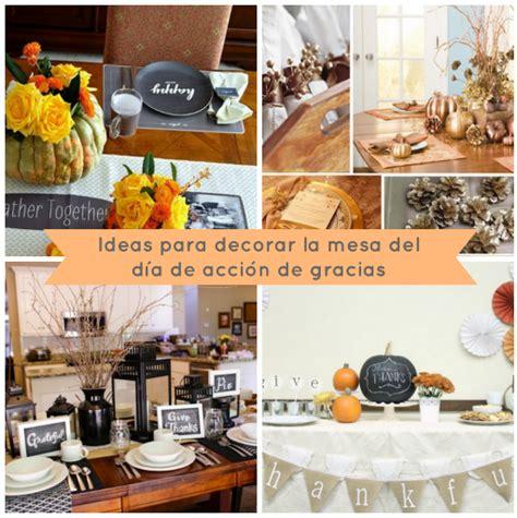 ideas para decorar la mesa en thanksgiving manualidades danielly lara
