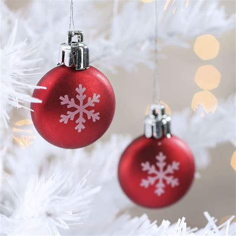 miniature snowflake christmas ornaments christmas