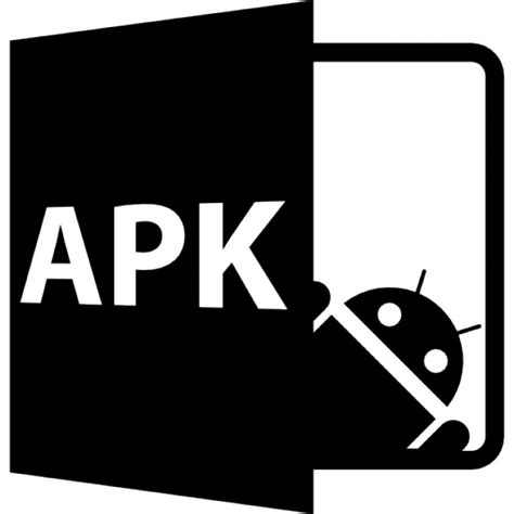 file apk apk open file format icons free