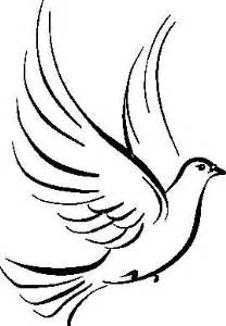 Holy Spirit Dove Outline by The World S Catalog Of Ideas