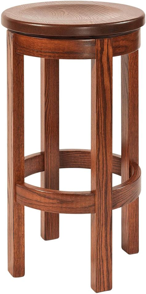 Barrel Back Swivel Bar Stools by Bar Stools Amish Furniture By Brandenberry Amish Furniture