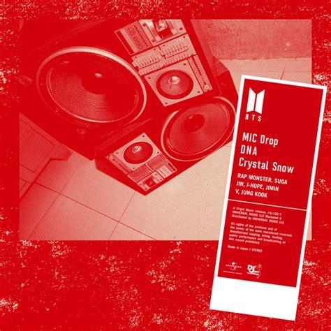 download mp3 bts dna album download single bts mic drop dna crystal snow