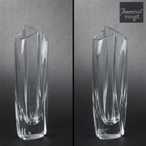 vaso baccarat baccarat vase quot giverny soliflore quot 2013080263 expertissim