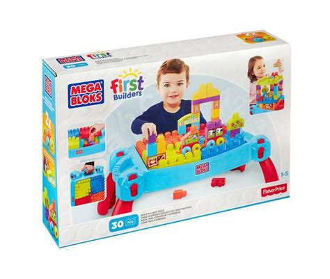 Mega Bloks Build N Learn Table by Mega Bloks Builder Build N Learn Table Cnm42