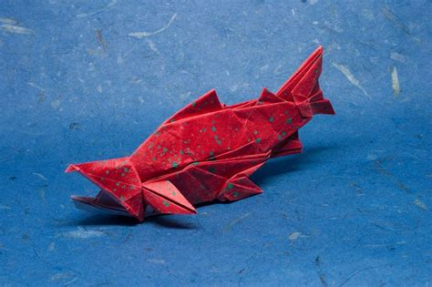 Origami Salmon - 473 best images about origami on origami