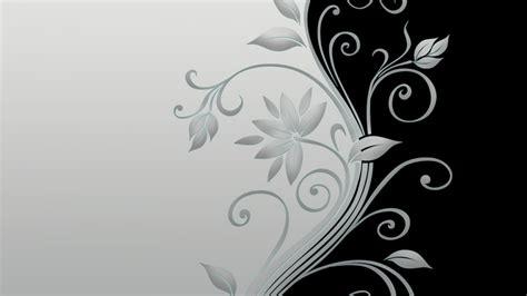 gambar wallpaper bunga hitam putih labzada wallpaper