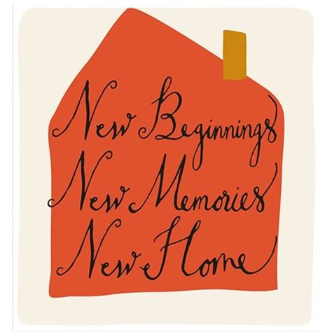 caroline gardner new beginnings new home cards from