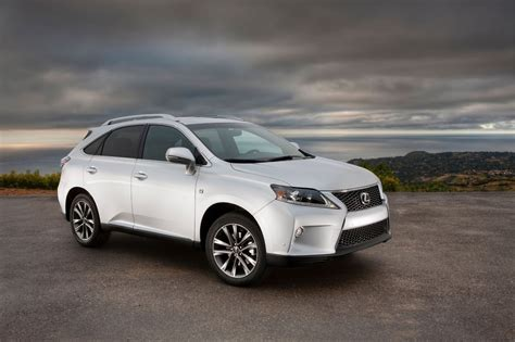 new lexus rx new car review 2013 lexus rx 350 f sport
