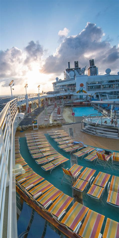 best deck on of the seas of the seas your spot the top deck onboard