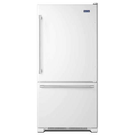 Single Door Refrigerator With Bottom Drawer Freezer by Maytag Mbf1958deh 19 Cu Ft Single Door Bottom Freezer