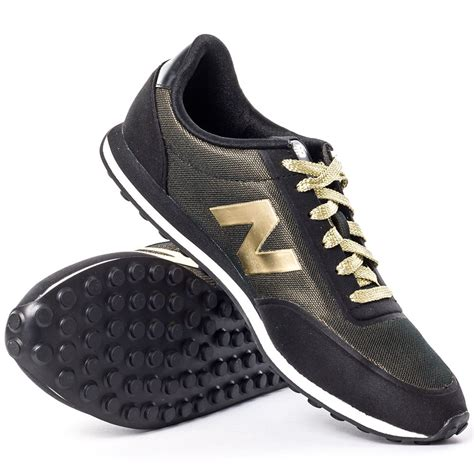 D 8 Black Gold new balance wl410pa womens trainers in black gold