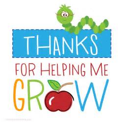 Thank You For Shopping With Us Template by Hanging Gift Tags Fill In Thanks For Helping Me Grow