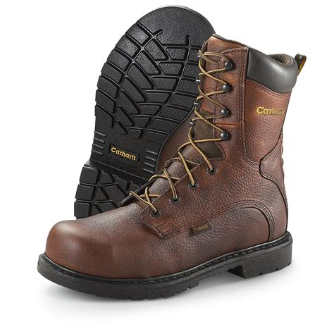 carhartt work boots for s 8 quot 3708 carhartt 174 steel toe work boots 209265